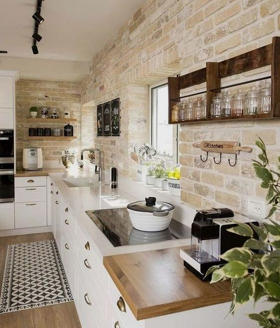 modern farmhouse style interior design idea