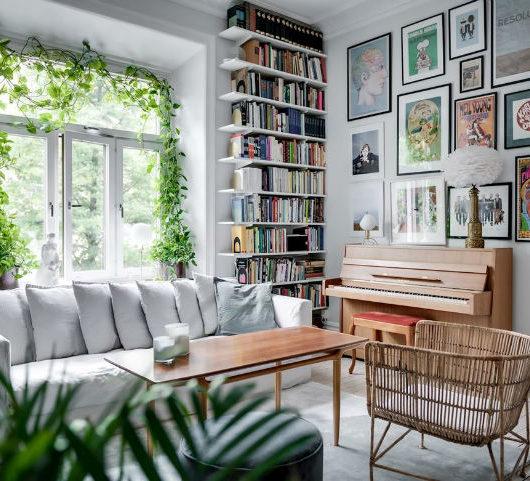 Charming Scandinavian Apartment interior design
