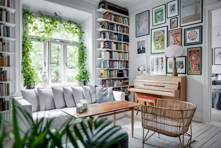 Charming Scandinavian Apartment interior design
