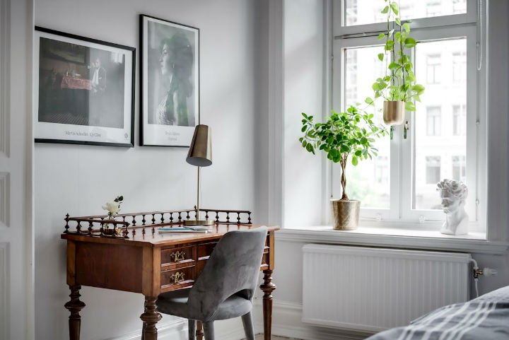 Charming Scandinavian Apartment interior design 10