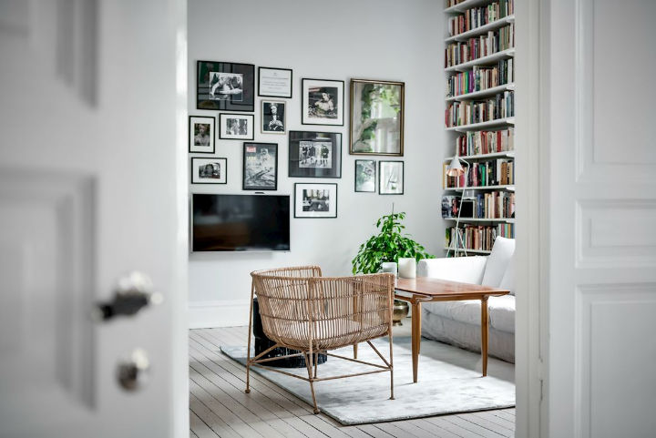 Charming Scandinavian Apartment interior design 4