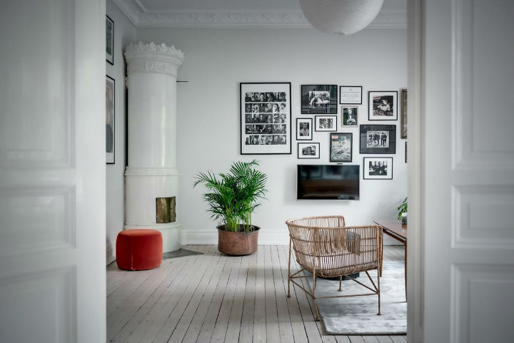 Charming Scandinavian Apartment interior design 5