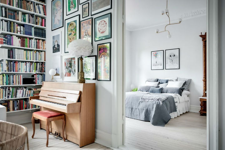 Charming Scandinavian Apartment interior design 8
