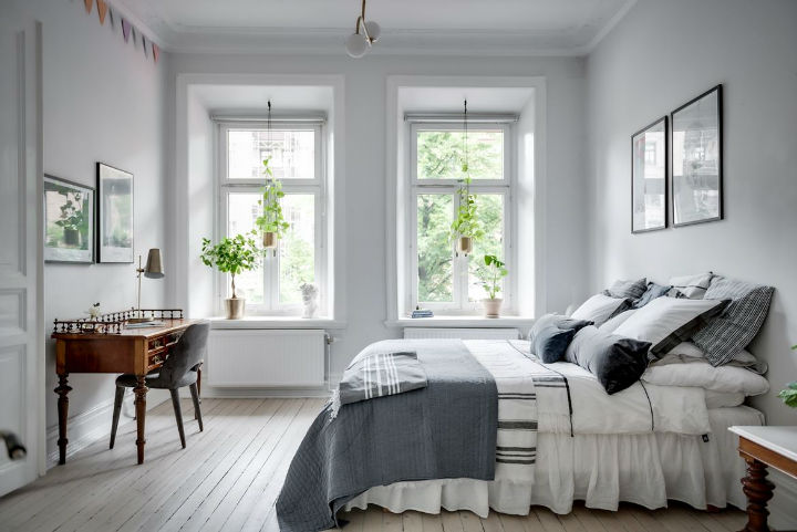 Charming Scandinavian Apartment interior design 9