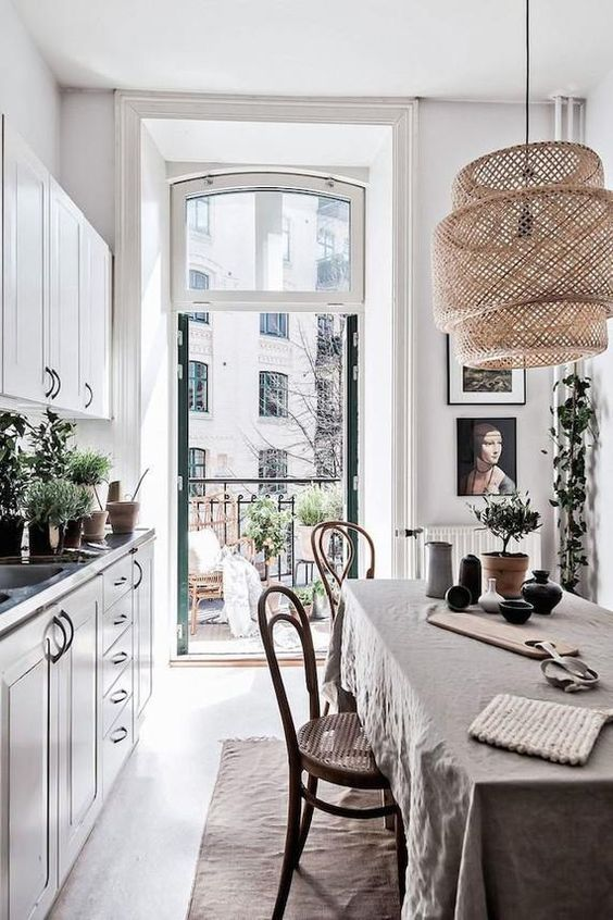 Scandinavian Galley kitchen