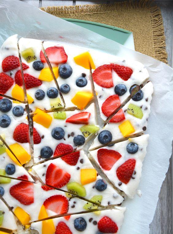 greek yogurt fruit bark
