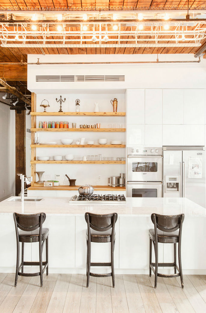 industrial-style loft