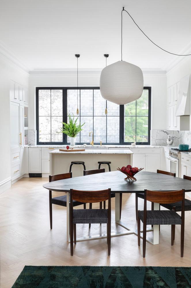 all white kitchen design idea 17