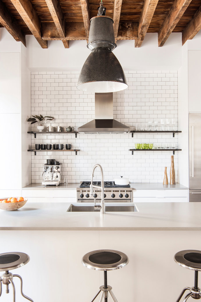 all white kitchen design idea 18