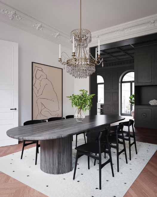Scandinavian Contemporary interior design To a Classic Space 10