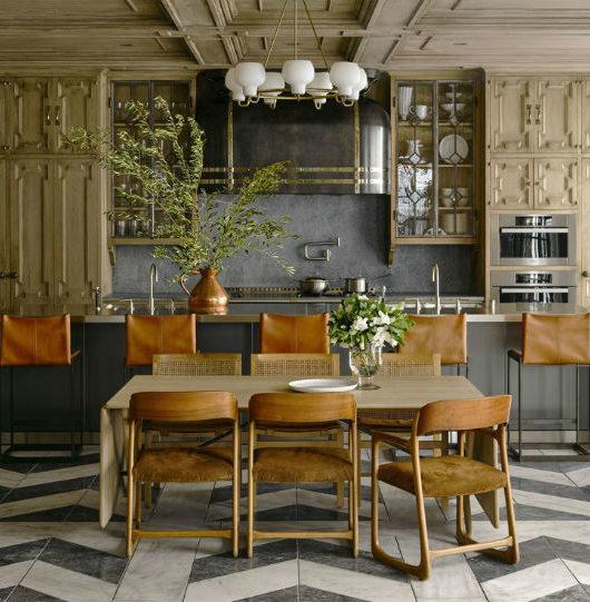 rustic country kitchen design idea