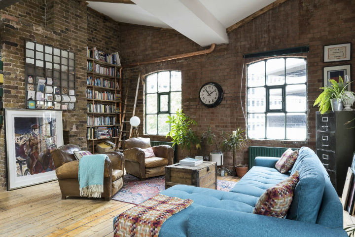 London Warehouse turned into industrial home