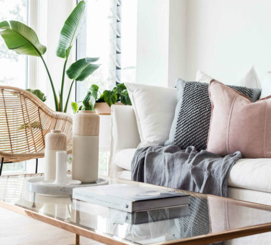 Interiors With Soft and Muted Colour Palette