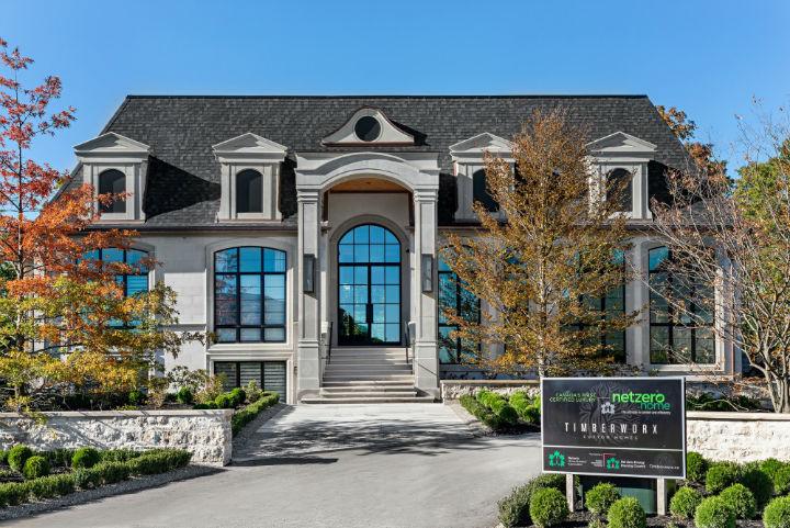 luxury avant garde Canadian home 12