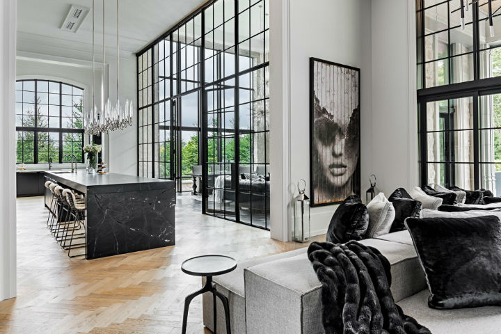 luxury avant garde Canadian home 3