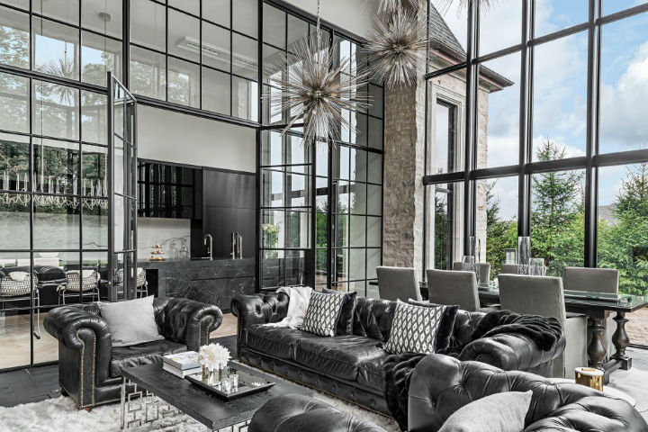 luxury avant garde Canadian home 4