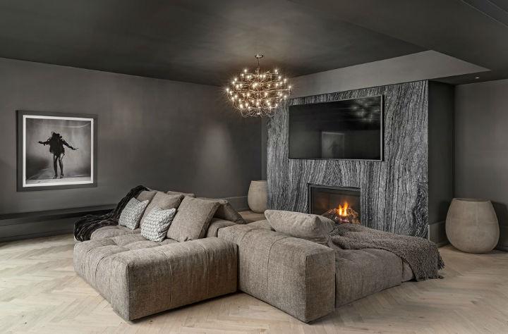 luxury avant garde Canadian home 6