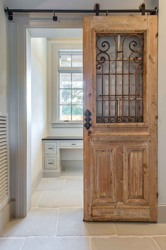 modern farmhouse Sliding Barn Door