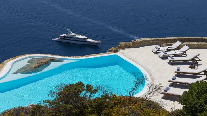 rental villa Agios Lazaros Mykonos