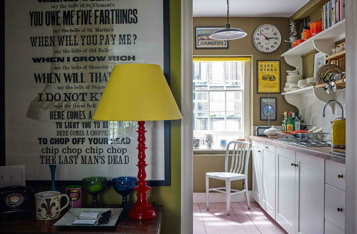 English 1960s and 70s Inspired Interior design 15