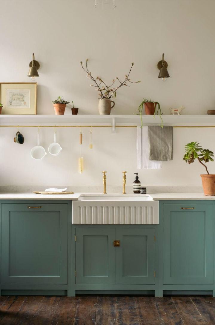 English Shaker Kitchen Design