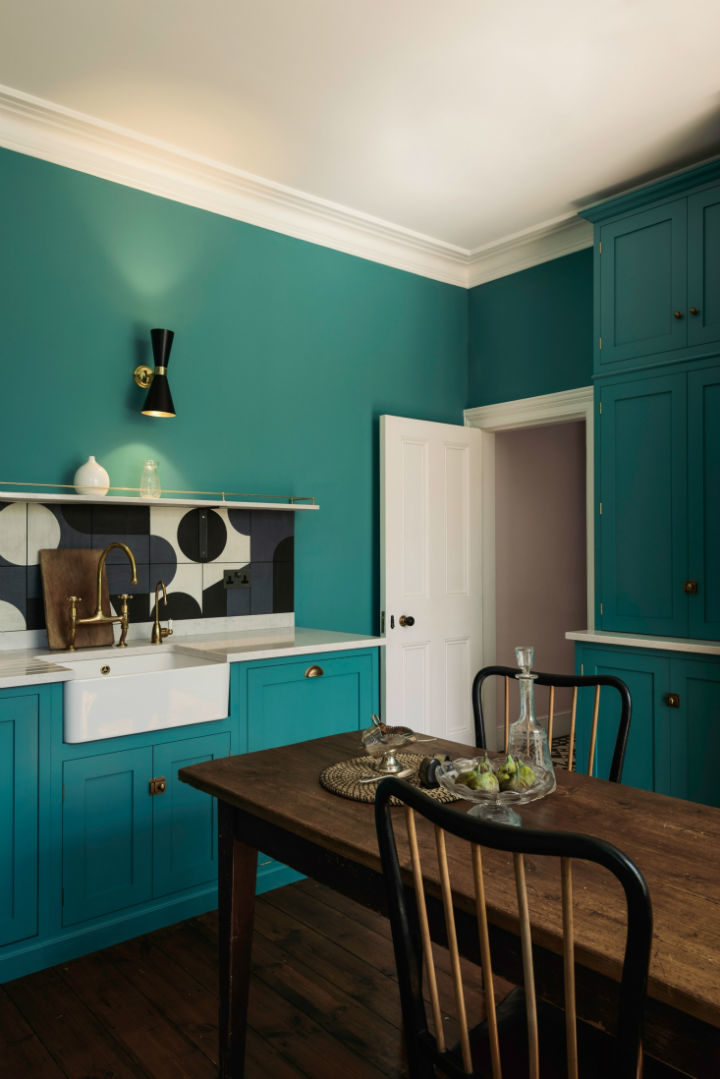 English Shaker Kitchen Design 10