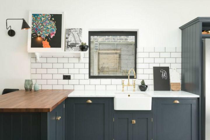 English Shaker Kitchen Design 12