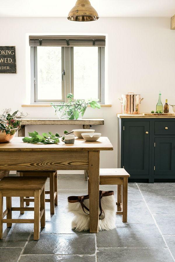 English Shaker Kitchen Design 16