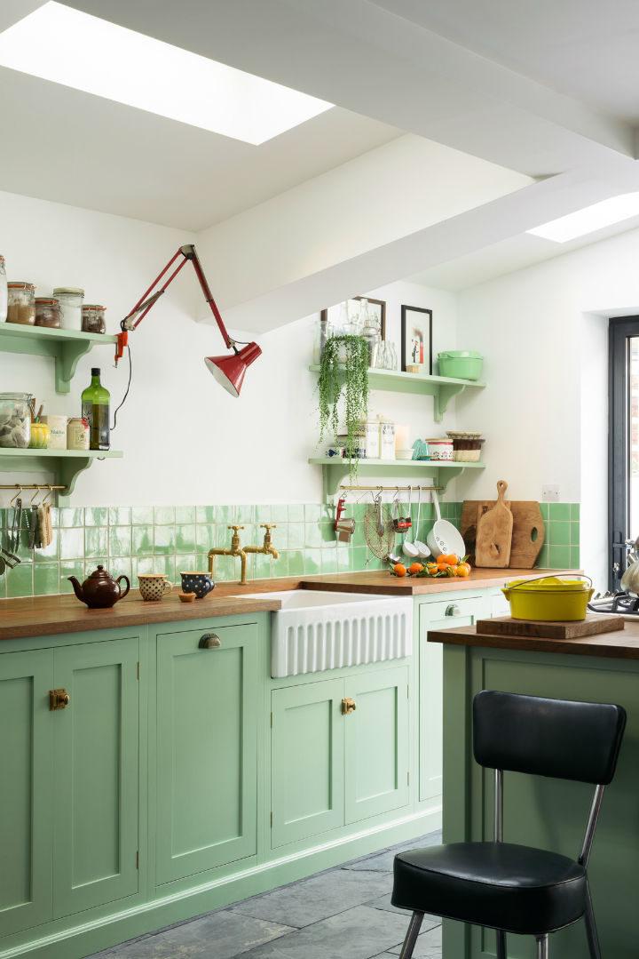 English Shaker Kitchen Design 25
