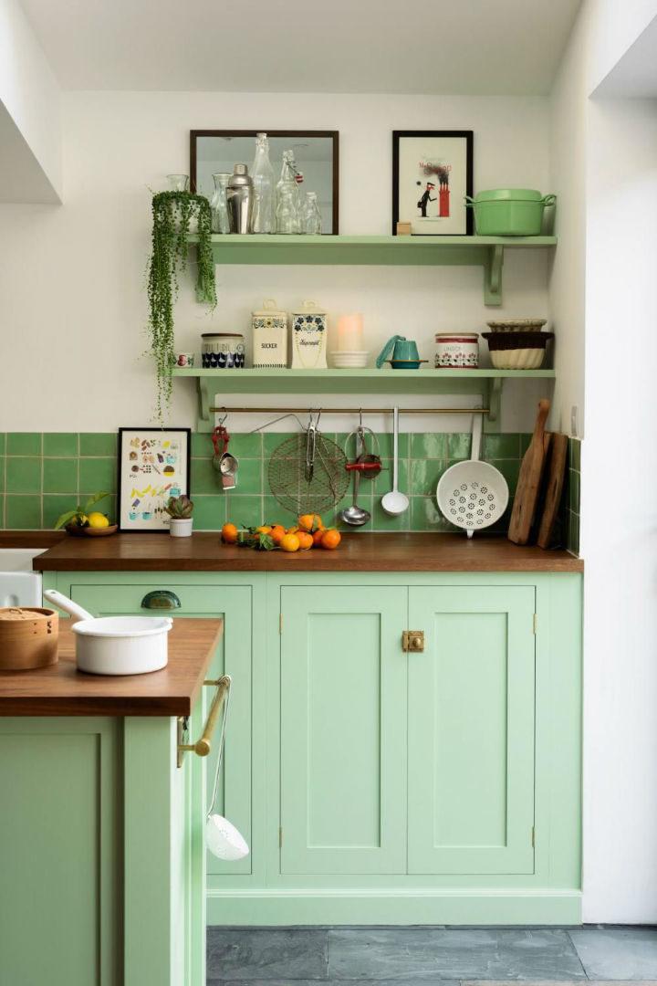English Shaker Kitchen Design 26