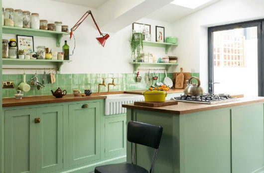 English Shaker Kitchen Design 27