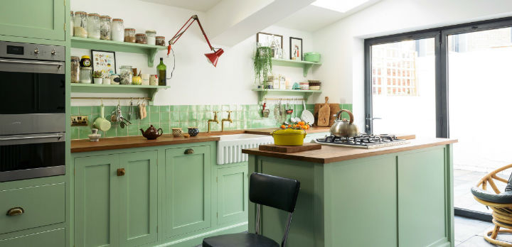 English Shaker Kitchen Design 27