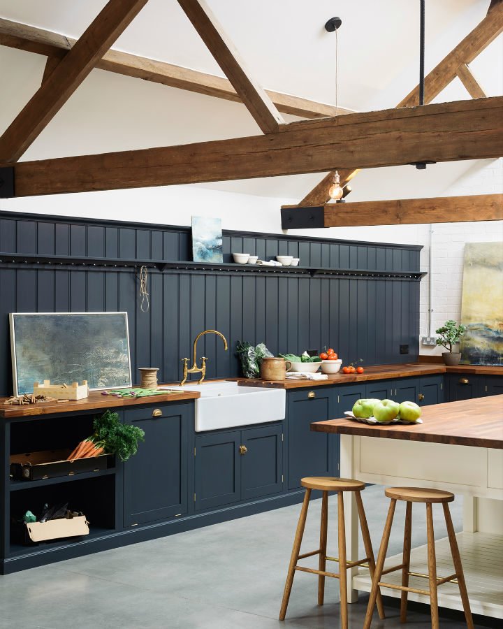 English Shaker Kitchen Design 33