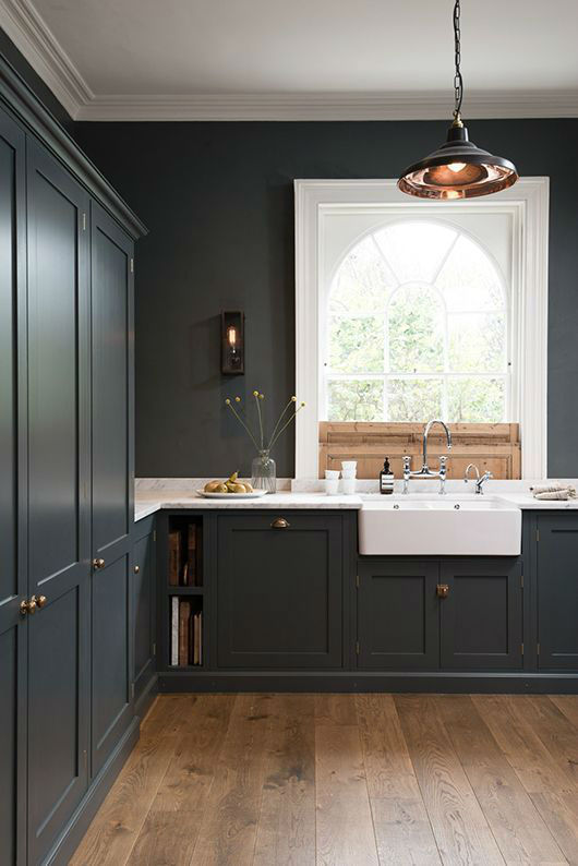 English Shaker Kitchen Design 42