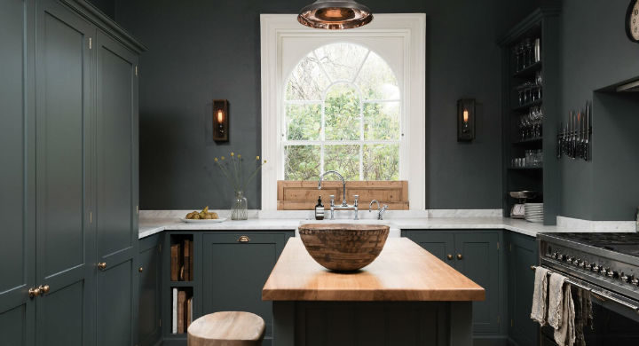 English Shaker Kitchen Design 44