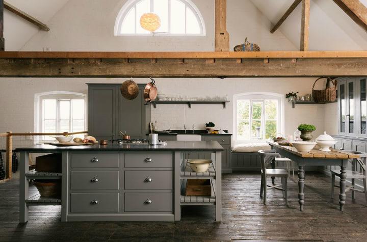 English Shaker Kitchen Design 49