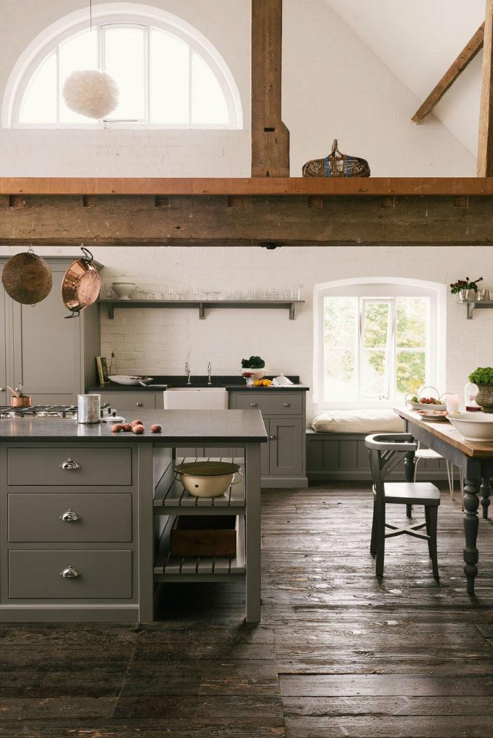 English Shaker Kitchen Design 50