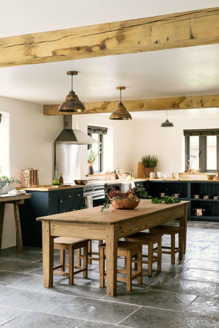 English Shaker Kitchen Design 53