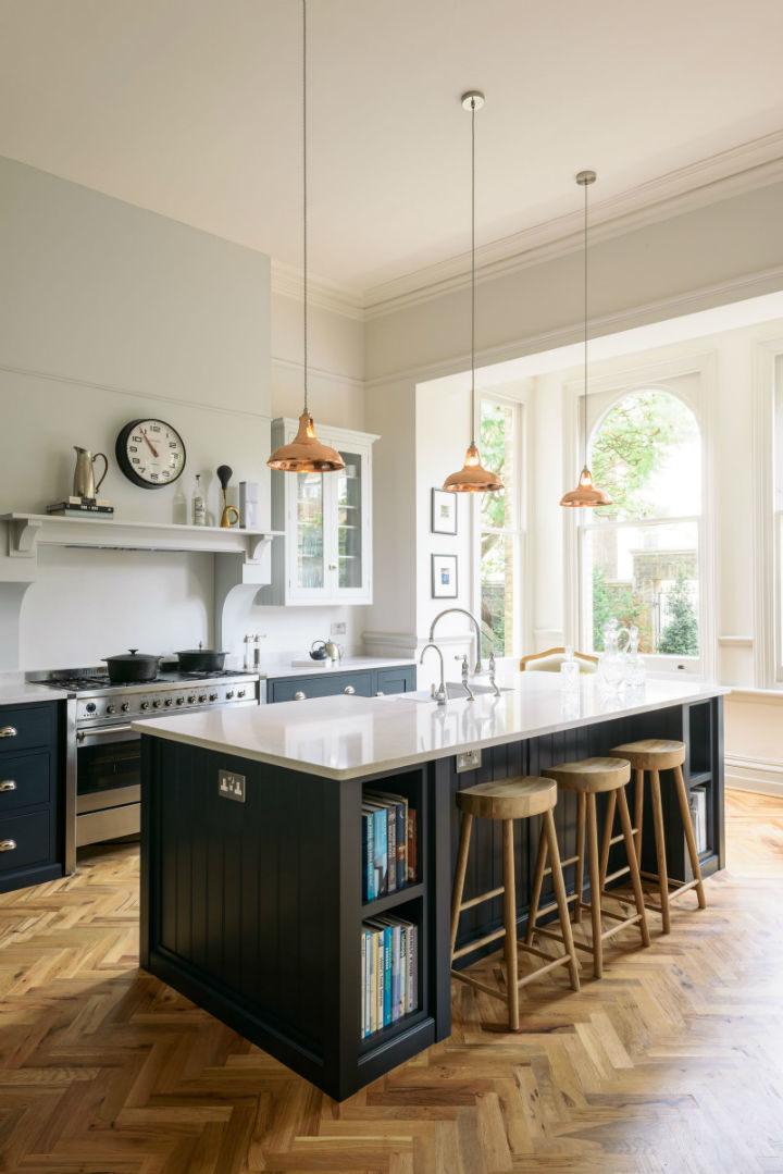 English Shaker Kitchen Design 54