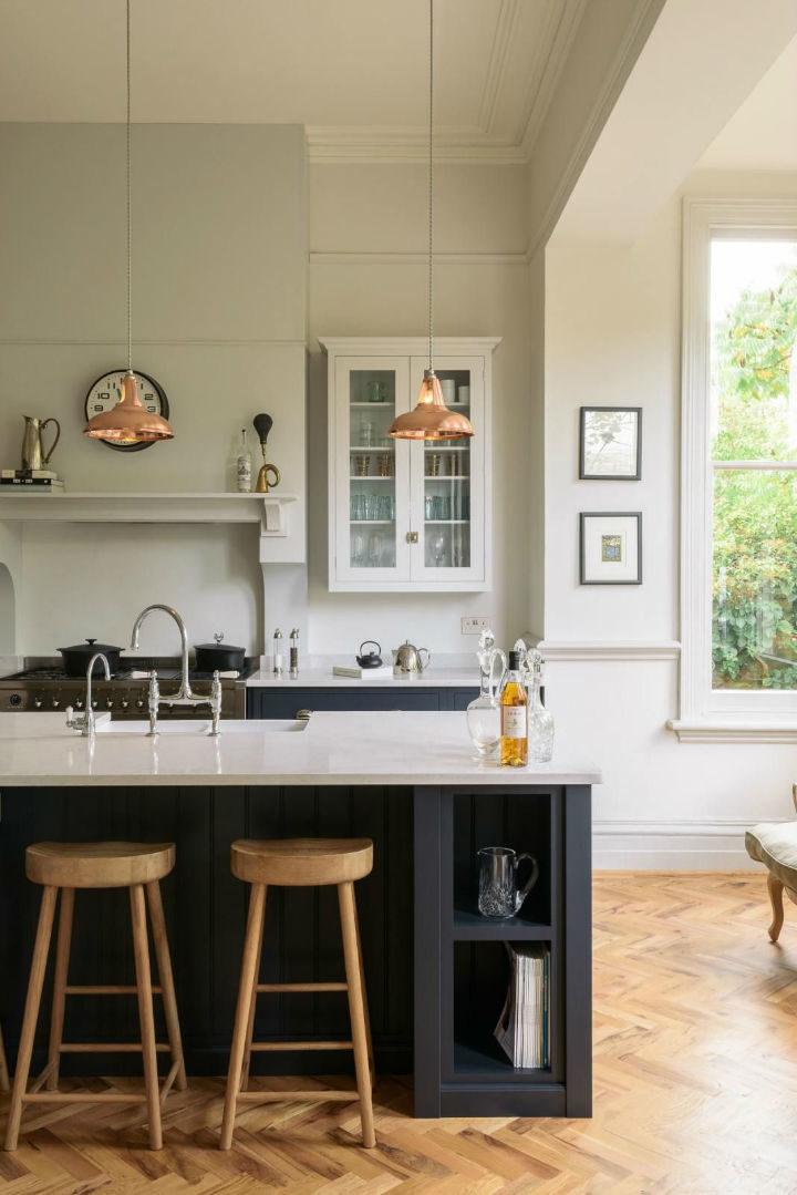 English Shaker Kitchen Design 55