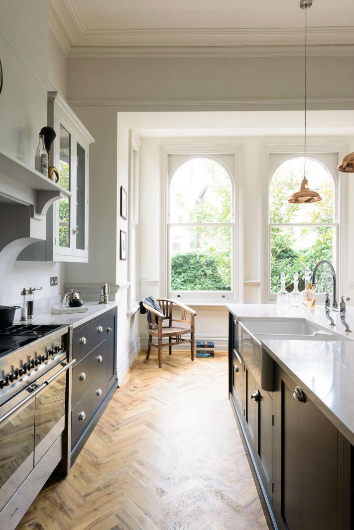 English Shaker Kitchen Design 56