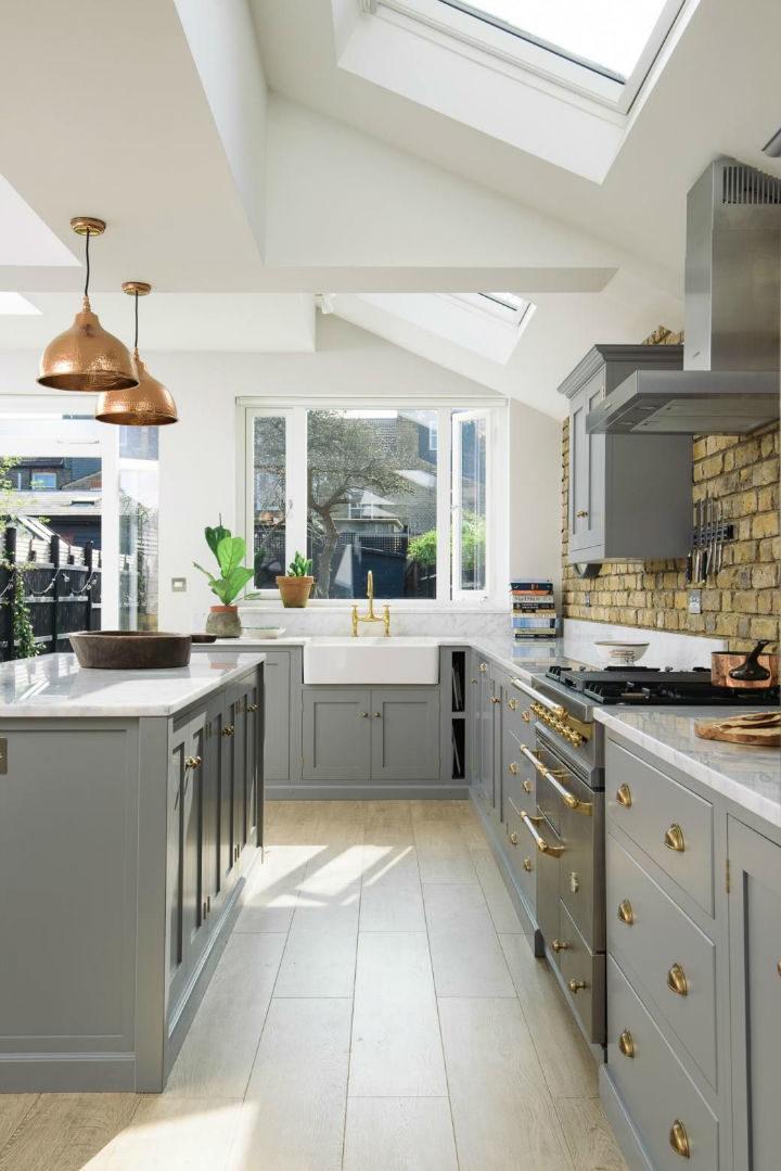 English Shaker Kitchen Design 57