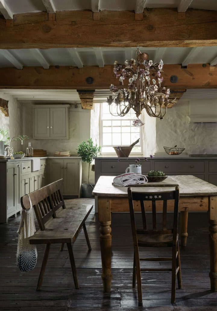 English Shaker Kitchen Design 61