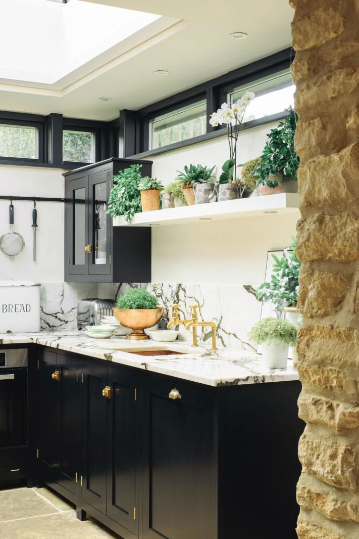 English Shaker Kitchen Design 63