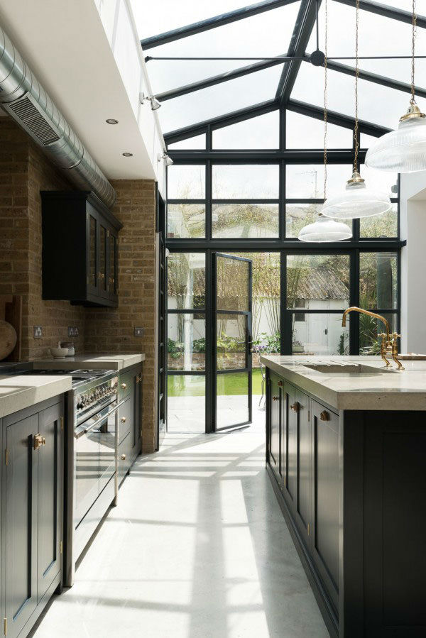 English Shaker Kitchen Design 65