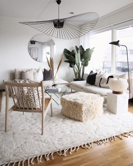 2019 fresh fall living room decorating idea