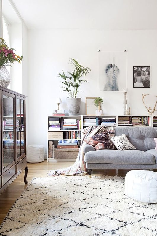 living room wall decor idea