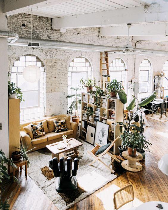 loft indoor plants 2019 fall home decor