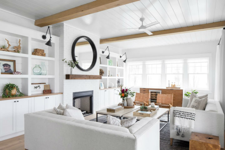 Timeless and Airy Interiors