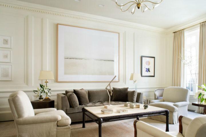 transitional living room idea